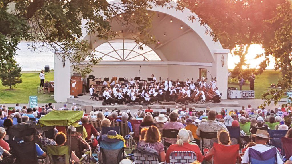 Concert at Lakefront Park