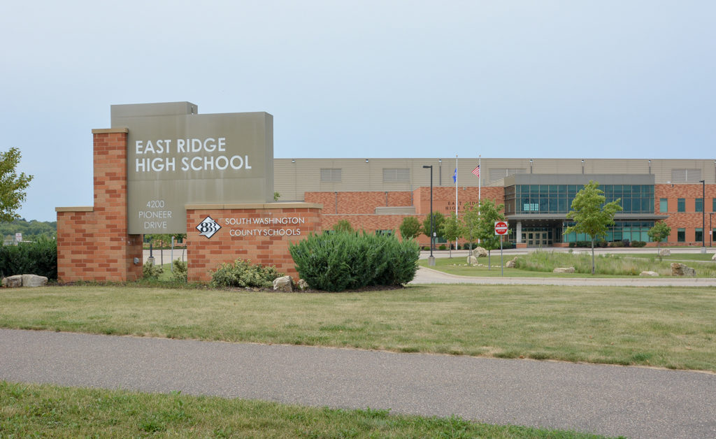 East Ridge High School in Woodbury, MN