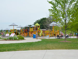 Madison's Place Playground at HealthEast Sports Center, Woodbury, MN