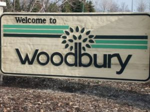 Woodbury MN Welcome Sign