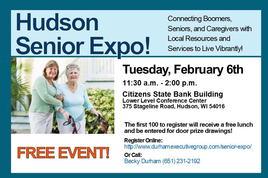 Hudson Senior Expo!