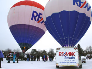RE/MAX Results at the Hudson Hot Air Affair