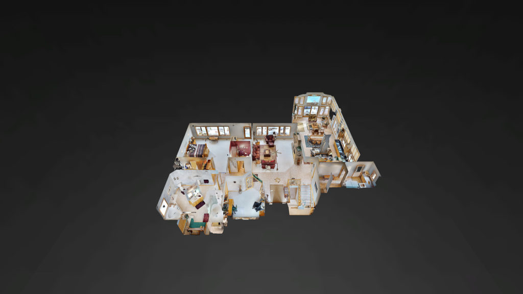 3D Dollhouse View of Woodbury Luxury Home