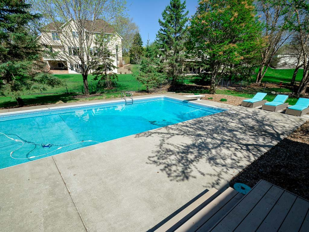 Woodbury MN home with a pool