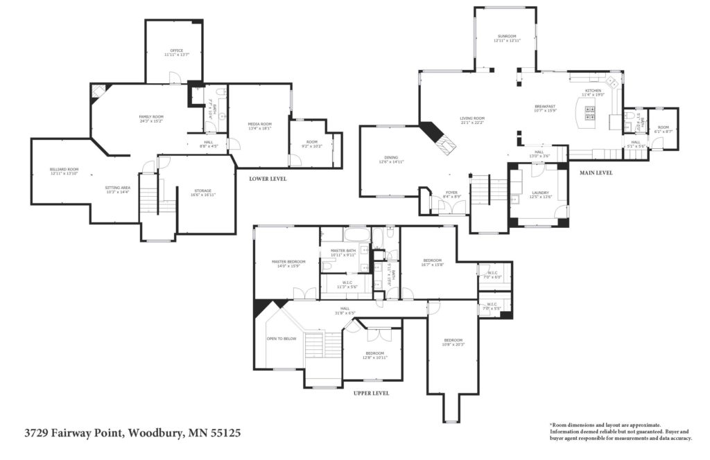 Woodbury Luxury Home Floor Plan