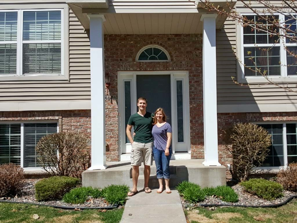 First time home buyers in St. Paul, MN suburbs
