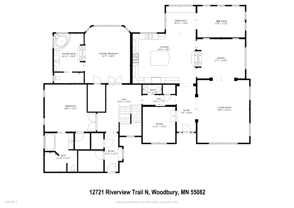 Stillwater Luxury Home Floor Plan