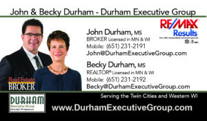 Durham Executive Group - Hudson WI's Luxury Home Realtors