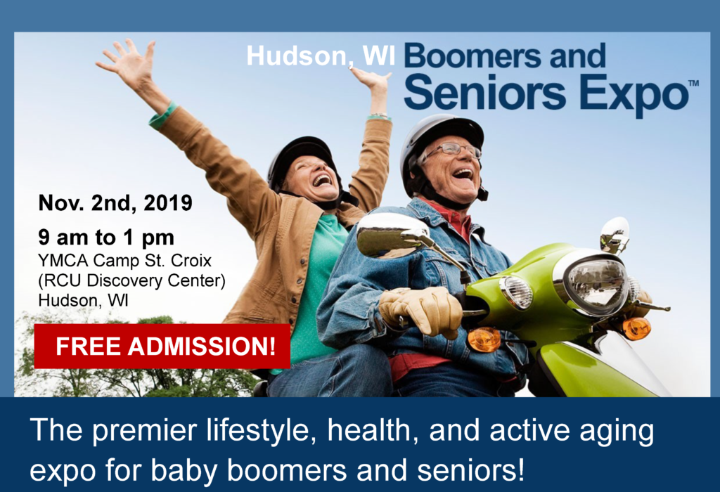 John and Becky are the founders and CEO of the Hudson WI Boomers and Seniors Expo