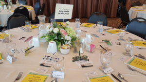 Becky Durham sponsoring Hudson Women's Club Spring Luncheon and Fashion Show