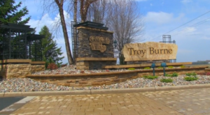Troy Burne Golf Village Entrance Monument