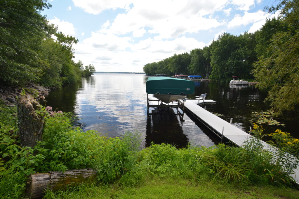 Home for Sale with Dock and Boat Lift on Lake Wissota